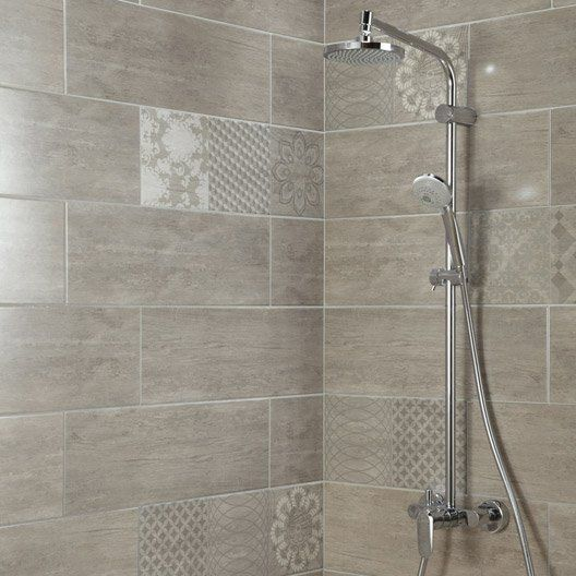 111 best images about salle de bain on pinterest stains for Carrelage salle de bain gris 30x60