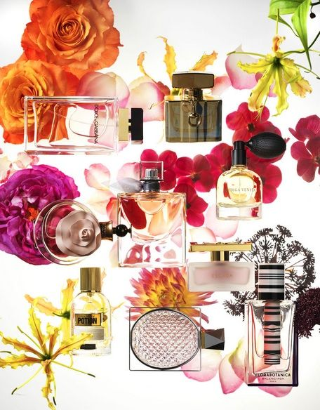 Beauty in Marie Claire Magazine NL I Photography by Frank Brandwijk | 'Perfume Flower Power' 'Photography Stilllife Beauty Product, Makeup & Cosmetics'