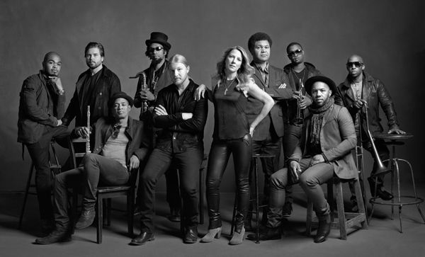 Tedeschi Trucks Band. These guys are fabulous....solo and together.