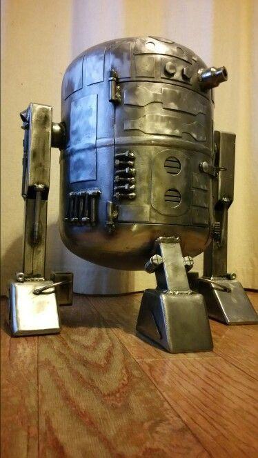 R2d2 Chiminea Gas Bottle Log Burner Star Wars Fire Pit
