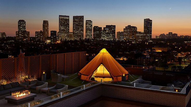 Make your urban #glamping dreams a reality with a stay at Beverly Wilshire, A Four Seasons Hotel in Los Angeles