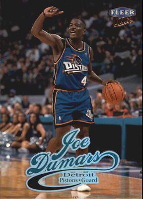 1998-99 Ultra Detroit Pistons Basketball Card #25 Joe Dumars