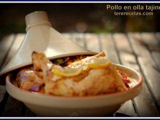 Pollo en olla tajine., Foto 4