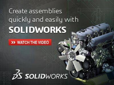 Watch the video to start learning how SOLIDWORKS can help shorten the assembly building process, simplify component integration tasks, and easily communicate your ideas. #Solidworks #3D #cad #engineering