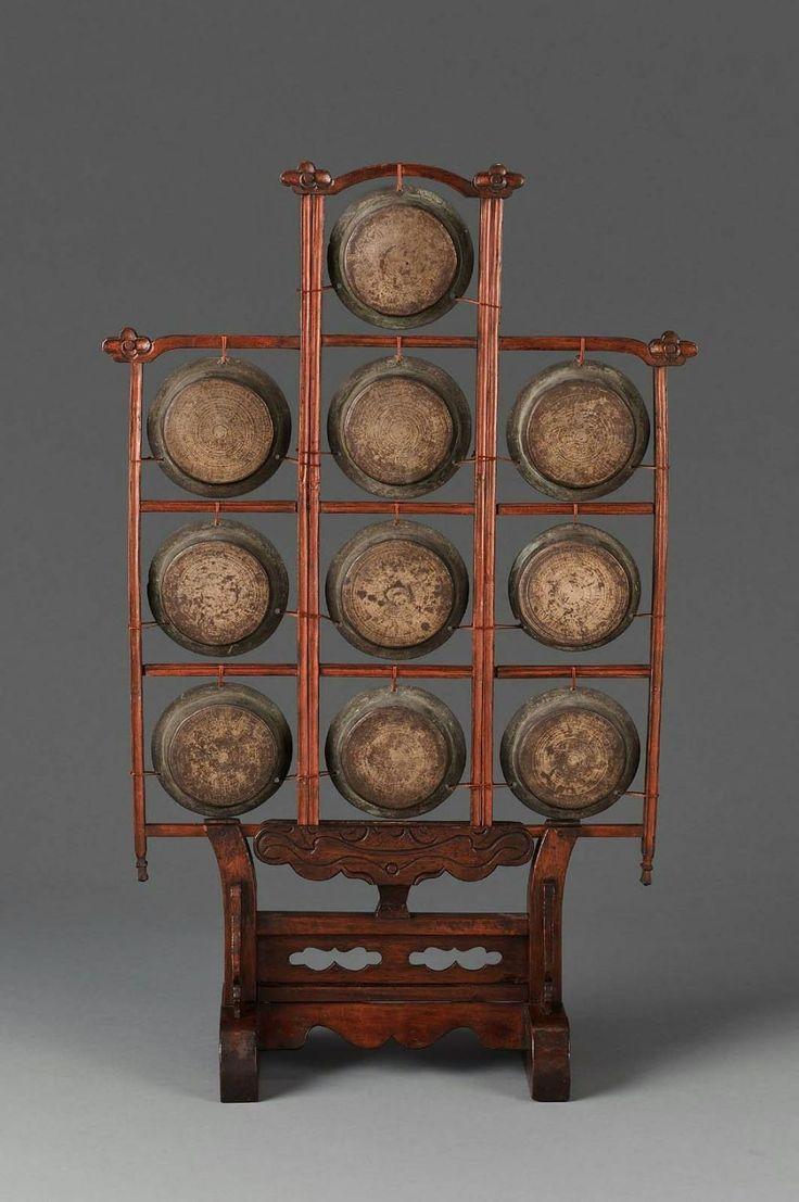 Set of Gongs (Yunluo) 19th Century, China. | Fotos Bonitas ...