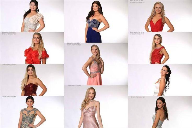 Miss World New Zealand 2017 Meet the finalists