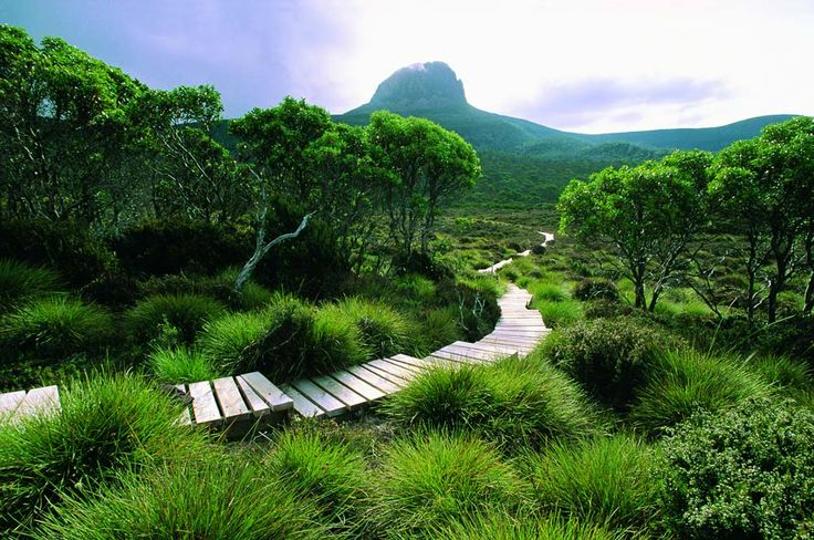 Cradle Mountain Huts Walk in Tasmania, Australia  Discover one of Australia's most spectacular World Heritage Areas while trekking the world famous Overland Track in the peaceful and exquisite terrain of Cradle Mountain and Lake St Clair National Park, Tasmania.