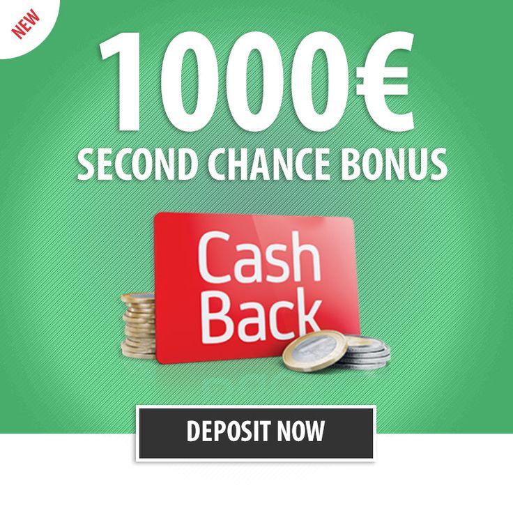 Parasino is giving you a %25 Second Chance #Casino #Bonus up to €1000 every day!  http://parasino.com/en/promotions/casino-second-chance-bonus