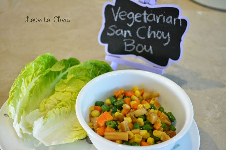 Love to Cheu: Vegetarian San Choy Bou