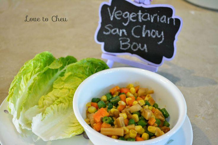 Love to Cheu: Vegetarian San Choy Bou