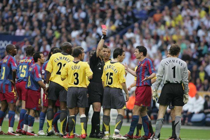 Jens Lehmann Arsenal vs Barcelona