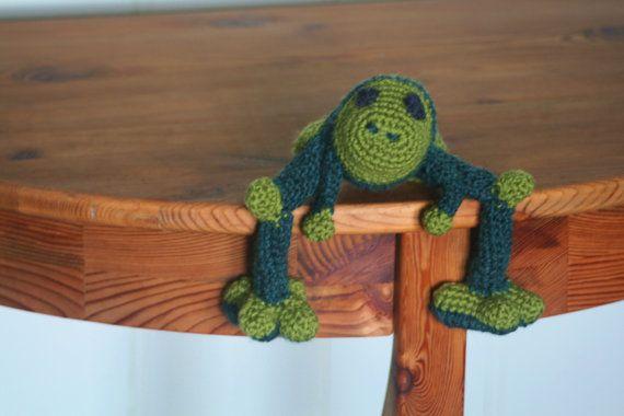 Ribbit the Frog by byEKFerguson on Etsy