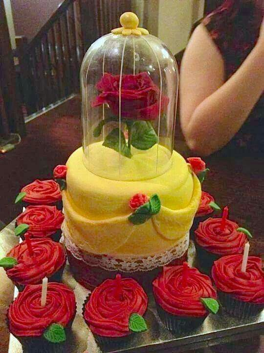 275 Best Images About Disney S Beauty And The Beast Cakes On Pinterest Disney