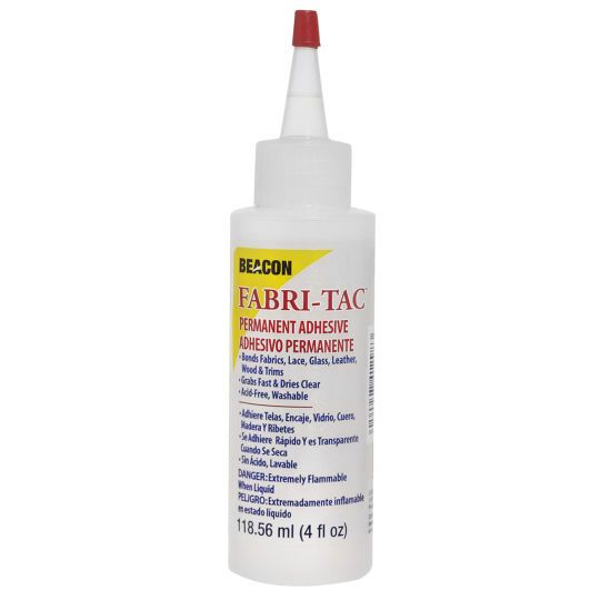 <div>Long considered one of the best fabric glues available, Fabri-Tac provides a permanent and ...