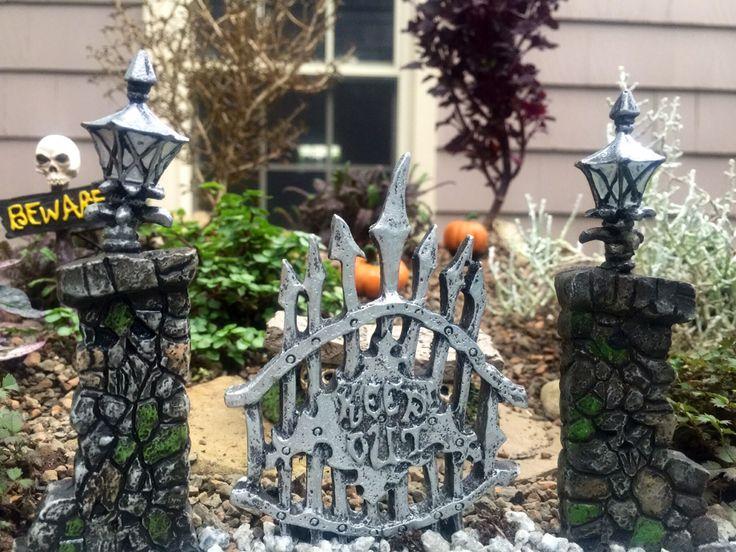 halloween fairy garden by kstarick