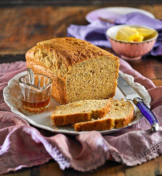 Every day is a perfect day for banana bread. Just remember to slice it extra thick…