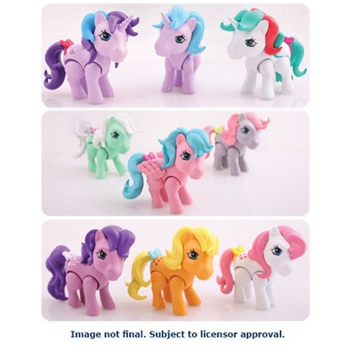 My Little Pony 3 Inch Series 1 Mini Figure Display Case
