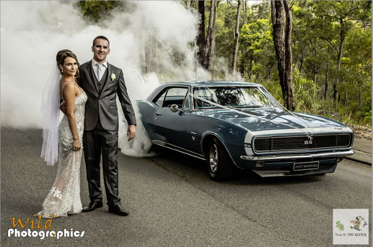 Muscle Car Weddings: See The Wildest Photos Click to Find out more - http://fastmusclecar.com/muscle-cars/muscle-car-weddings-see-the-wildest-photos/ COMMENT.