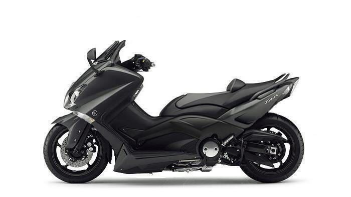 Power and styling of a sport bike, convenience of twist and go with underseat storage