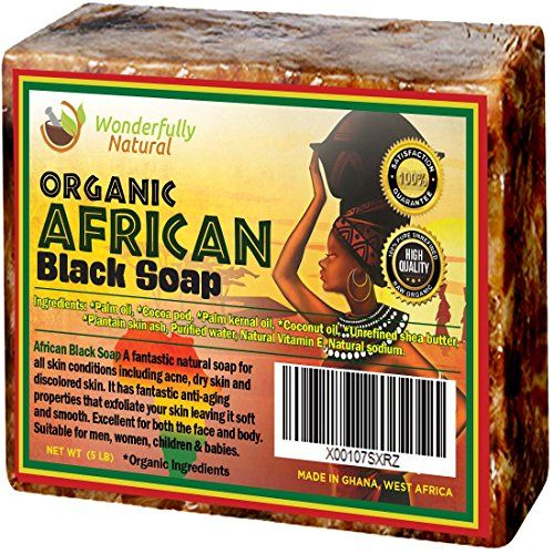 Informative article regarding #1 Organic African Black Soap - 5 lb Best for Acne Treatment, Eczema, Dry Skin, Psoriasis, Scars, Dermatitis, White Heads Pimples, Anti-fungal Face & Body Wash, Raw Handcrafted Beauty Scrub Bar ...