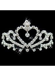 diamant bruids haaraccessoires bruids bruids haar hoofdtooi kroon kroon Bridal…