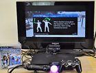 Sony PlayStation 3 250GB Console (CECH-2001B)W/ EYE & Motion Controller &1 Game