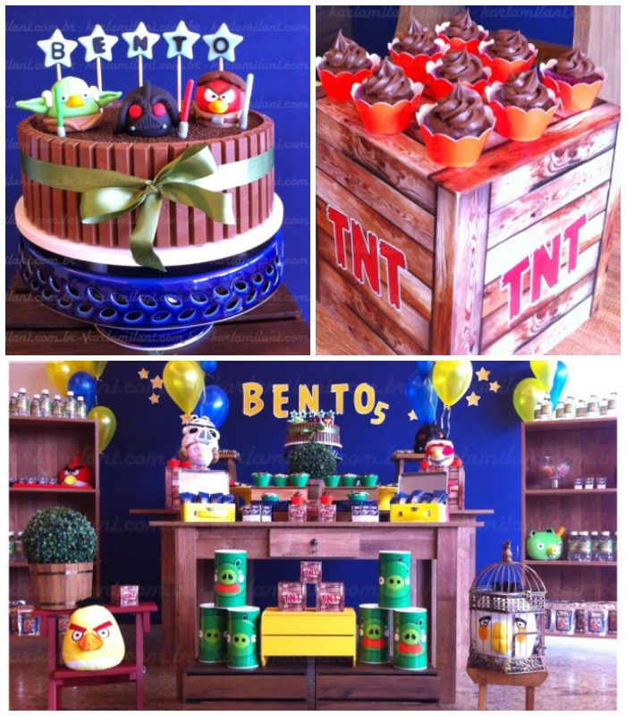 150 best angry birds party images on pinterest bird for Angry bird decoration ideas