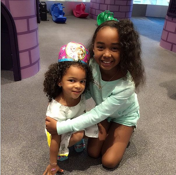 Shai Moss & P. Diddy daughters