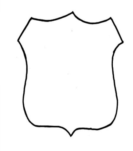 Police Badge- Community Helpers Unit