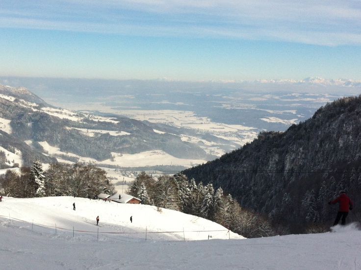 9. Feb 2013 - Balmberg - The alps, what a view!