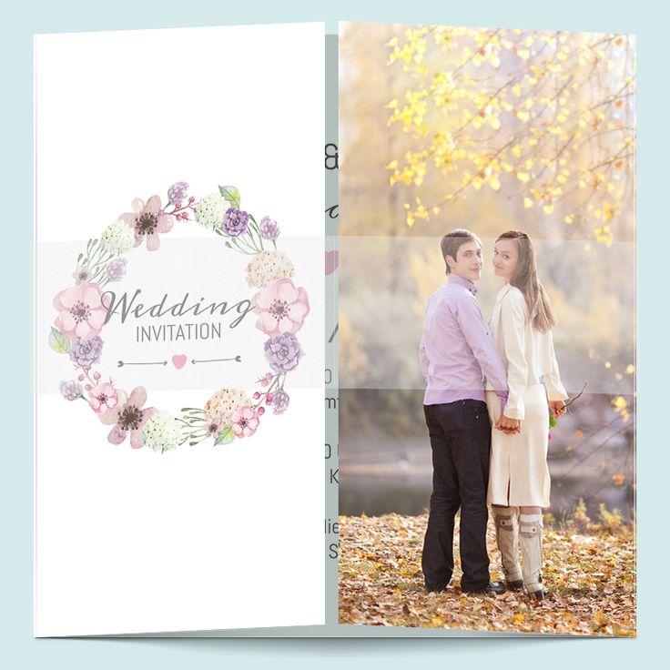 162 besten Hochzeitseinladungen selber gestalten Bilder auf Pinterest