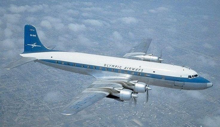 Olympic Airways Douglas DC-6B (Island of Corfu) [SX-DAE]