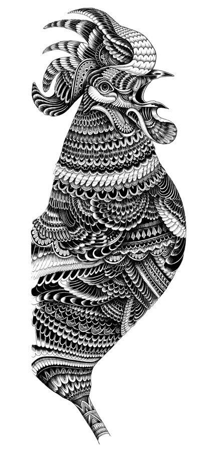 Monnaie de paris collection : Rooster Series - Iain Macarthur
