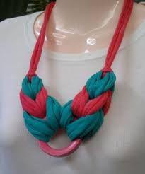 Fabric T Shirt Old Fabric Yarn http://www.aliexpress.com/store/1687168   collares crochet TRAPILLO - Buscar con Google