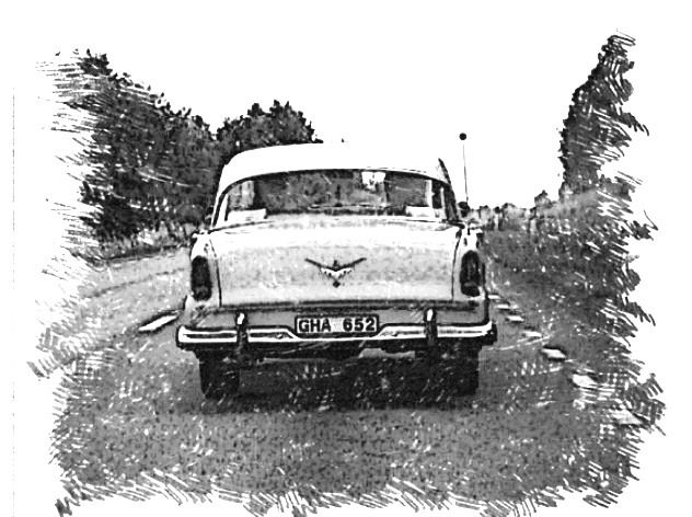Forward! With the Dodge Kingsway 1955 photo: Sandra Fransson