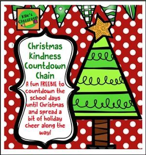 "FREE LESSON - ""Christmas Acts of Kindness Countdown Chain"" - Go to The Best of Teacher Entrepreneurs for this and hundreds of free lessons. Kindergarten - 5th Grade    #FreeLesson   #Christmas   http://www.thebestofteacherentrepreneurs.com/2015/12/free-misc-lesson-christmas-acts-of.html"