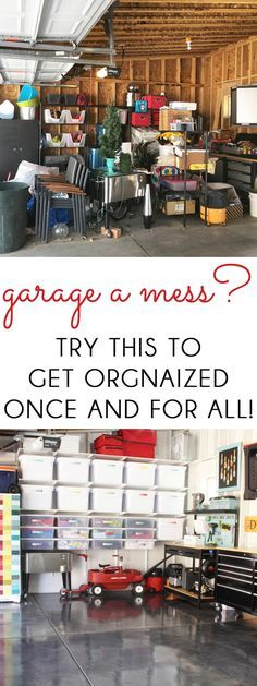 ORGANIZE THE GARAGE  - Check more details on www.prettyhome.org