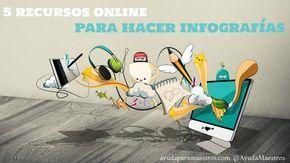 AYUDA PARA MAESTROS: 5 recursos online para hacer infografías