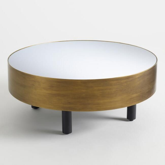 Round Cristelle Coffee Table Brass Round Coffee Table Round