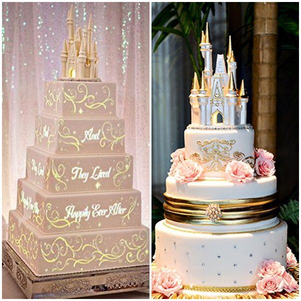 montage gateaux mariage theme disney 1