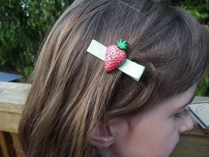 Lovely hair accessories by OutRAEgeous Designs | Available on Diggit $6