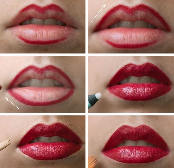 17 ideas about labios gruesos en pinterest labios de for Labios mate paso a paso