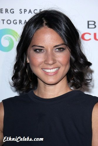 Olivia Munn - american model and actress from a blended background, mother/Chinese and father/German & Irish. She was born in Oklahoma City, Oklahoma, grew up in Tokyo, Japan. Her mother American Air Force man who was stationed in Japan. As a result Munn spent a lot of her youth living in Shinjuku, one of the busiest parts of Tokyo. She has modeled in Japan as well as in the States http://www.ask.com/wiki/Olivia_Munn?o=3986=999