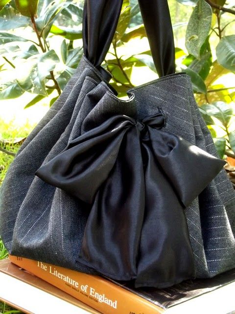 Morning by Morning Productions: Satin Sash Bag - I need one of