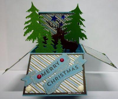 BaRb'n'ShEll Creations - Christmas box card - BaRb