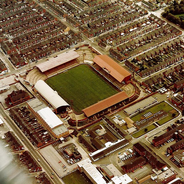Ayresome Park Middlesbrough FC old football ground. My Great Grandad built some of the houses around here and my Nanna lived on Napier Street