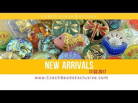 Czech Glass Buttons - New Arrivals 17.03.2017 | CzechBeadsExclusive