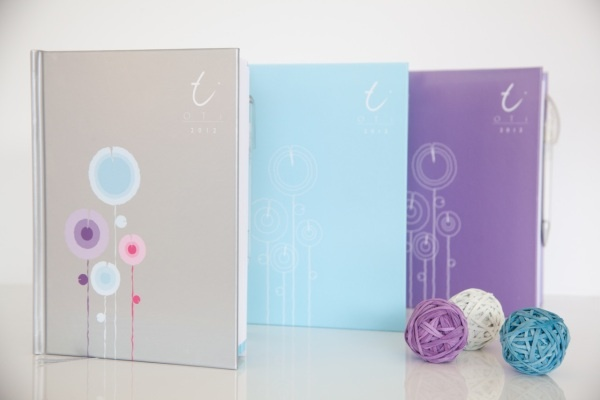 OTI (On to it) Organiser 2012 - these are for mum's right? - so prettY!!!