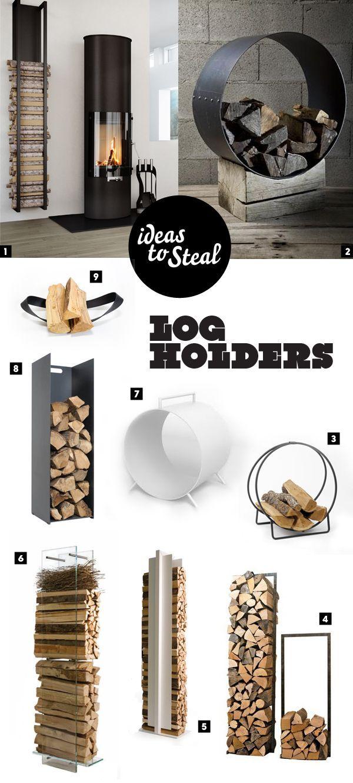Vedkurver - Modern and cool log holders