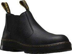 Men's+Dr.+Martens+Rivet+Steel+Toe+Chelsea+Boot+-+Black+Pitstop+Leather+with+FREE+Shipping+&+Exchanges.+The+Rivet+Steel+Toe+Chelsea+Boot+is+an+excellent+general+purpose,+easy+